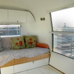 The Airstream interior